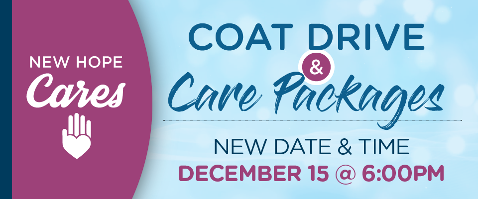 Liz Black Coat Drive & Care Packages New York City and New Jersey.